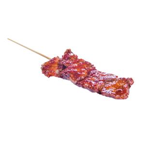 【辣椒醬牛肉串】已剪走背景可以下載即用的食物相