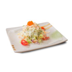 蟹籽黃瓜沙律的去背退地食物素材相片