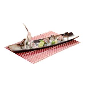 原隻飛魚魚生的去背退地食物素材相片