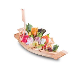 雜錦刺身大船的去背退地食物素材相片