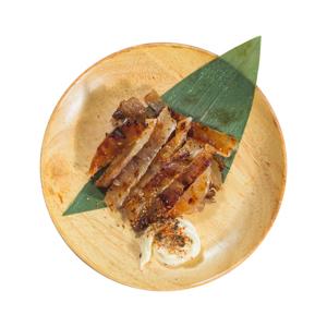 燒魚乾小吃的去背退地食物素材相片