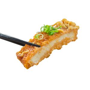 【用筷子夾起吉列豬扒】比起想影得好不如買相更加快