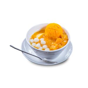 芒果糯米糰子冰淇淋的去背退地食物素材相片