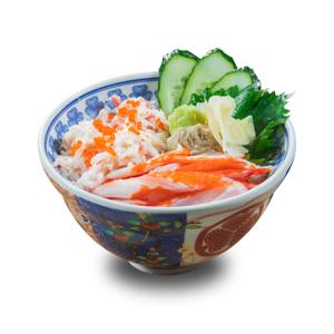 【蟹肉蟹棒刺身丼飯】你的最佳餐點相片