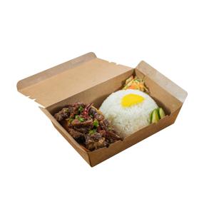 台式外賣便當紅燒牛腩飯的去背退地食物素材相片