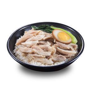 【鹵水蛋雞絲飯】精美而且高質量去背食物素材