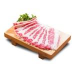 切片生肥牛肉的去背退地食物素材相片