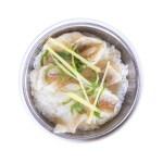 薑蔥石斑魚片蒸飯的去背退地食物素材相片