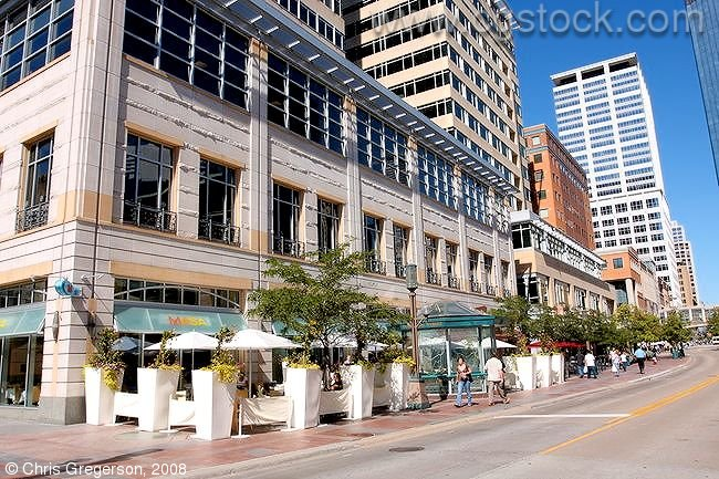 cgstockcom  thumbnails of Nicollet Mall in downtown
