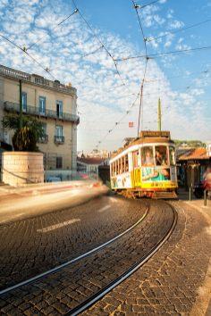 The Tram | Lissabon | © Timo Zilz