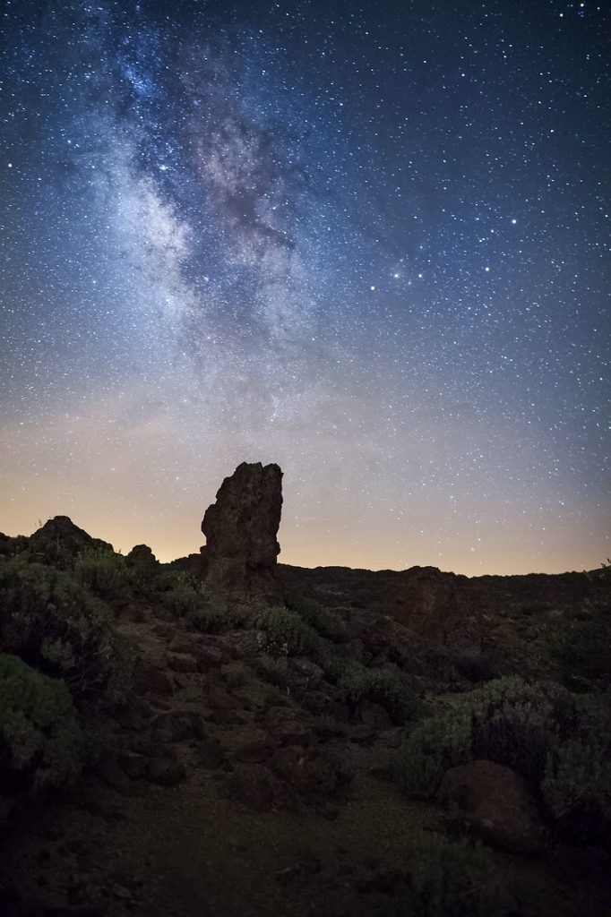 Milchstrasse Teide Nationalpark