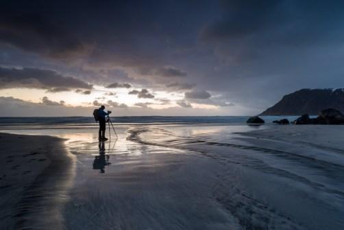 Christian Ringer auf Lofoten