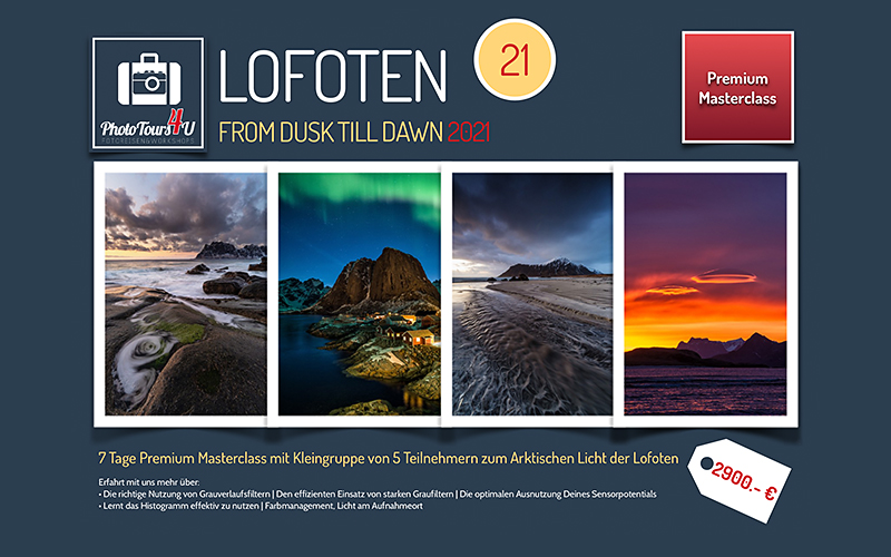 Fotoreise from Dusk till Dawn Lofoten 2021