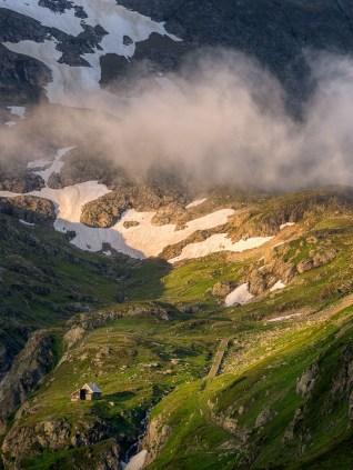 Sustenpass Schweizer Alpen