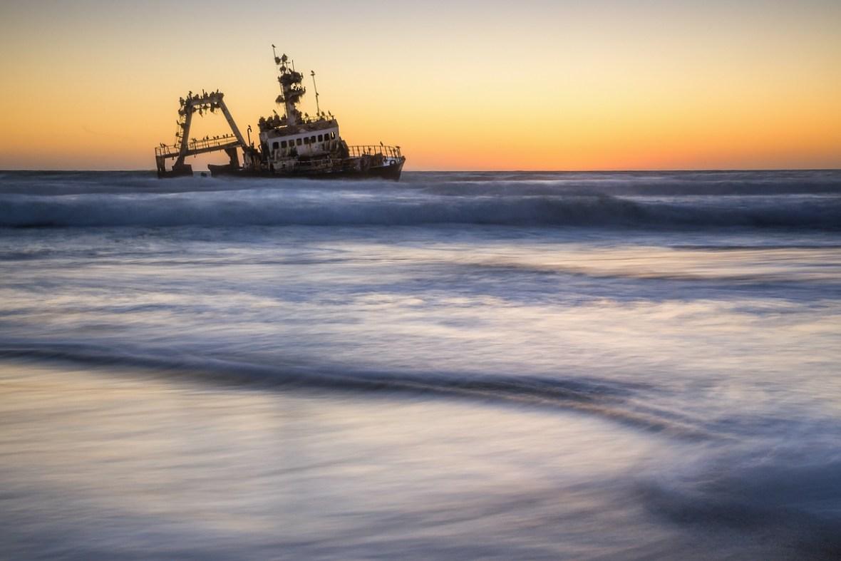 Skelettküste Namibia Schiffswrack Wreck