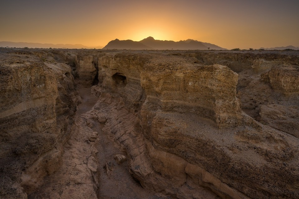 Sesriem Canyon, Namibia, Sunrise