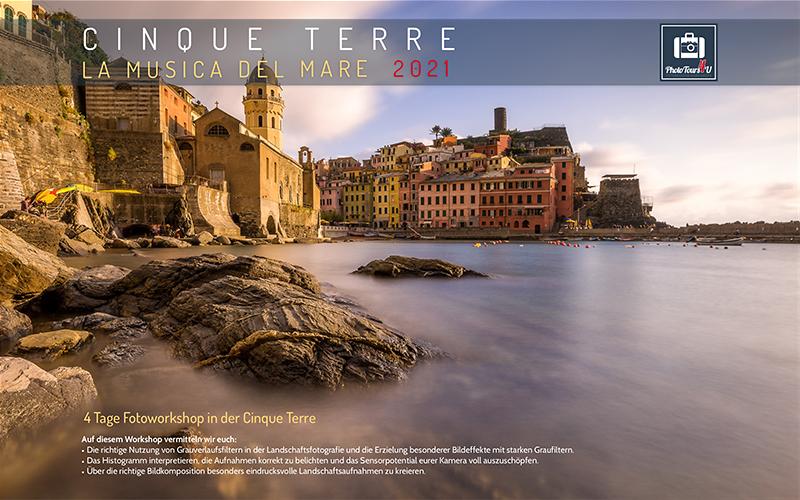Fotoworkshop Ligurische Küste Cinque Terre 2021