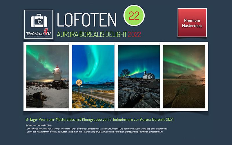 Fotoreise Lofoten 2022 Polarlichter