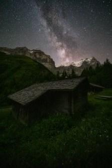 Fotografieren in den Bergen Rosenlaui Schwarzwaldalp © Raik Krotofil