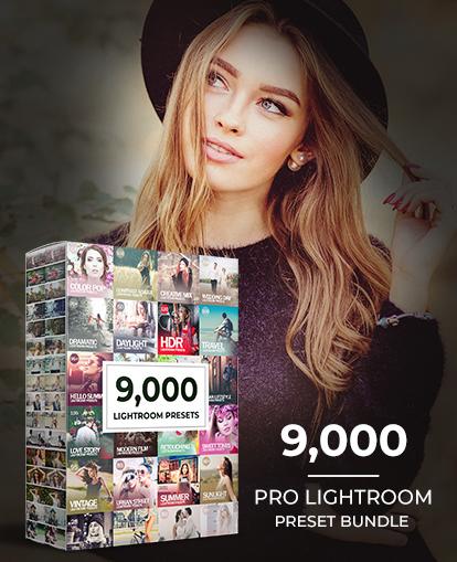 Mega Bundle Of 9,000 Pro Lightroom Presets