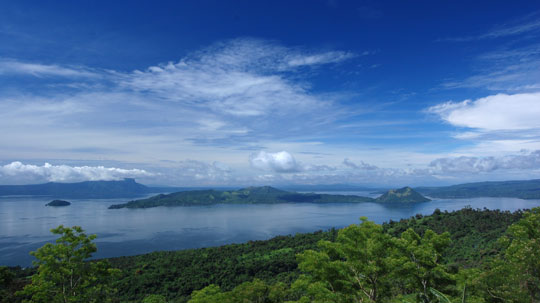 FPPF Team Goes Up to Taal Volcano