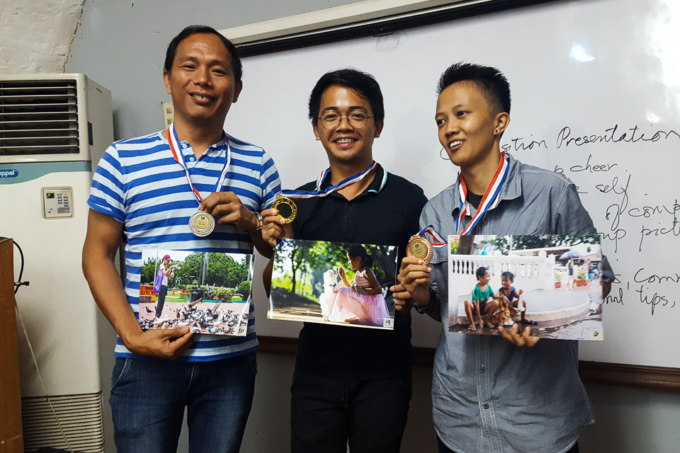 Winners: Batch 8 Sat Basic Photography Aug 5-Sep 2, 2017