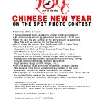 Call for Entries: Chinese New Year OTS