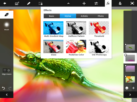 Adobe Photoshop Touch - Effects