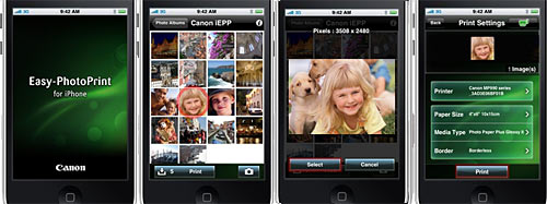 Canon Easy-PhotoPrint for Apple iPhone