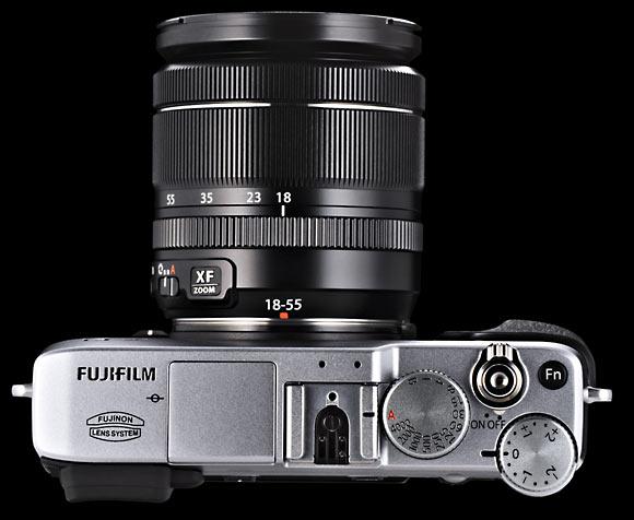 Fujifilm X-E1 Top View