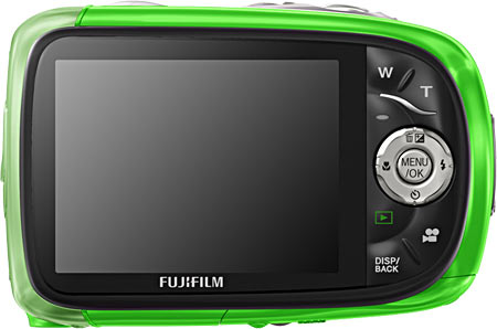 Fujifilm FinePix XP10 Back View