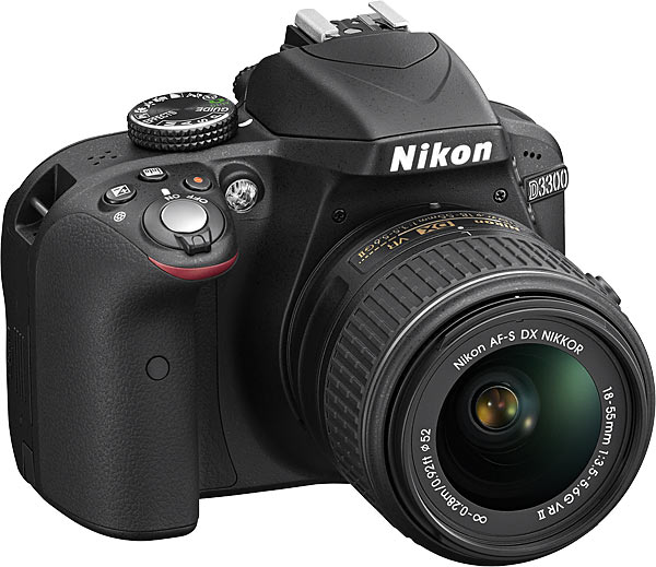 Nikon D3300 camera body + AF-S DX NIKKOR 18-55mm f/3.5-5.6G VR II lens