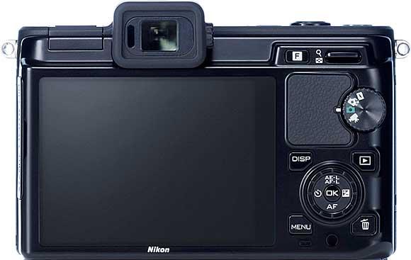 Nikon 1 V1 Back View
