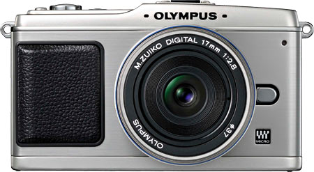 Olympus E-P1 with 17mm pancake lens
