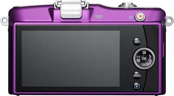 Olympus PEN Mini E-PM1 Back View