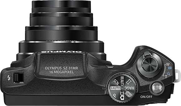 Olympus SZ-31MR Top View