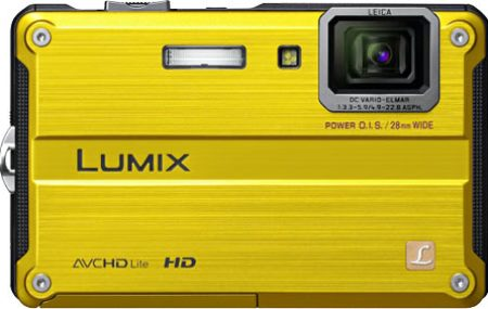 Panasonic Lumix DMC-TS2 / FT2 Back View