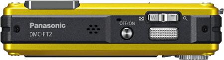 Panasonic Lumix DMC-TS2 / FT2 Top View