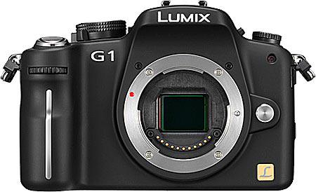 Panasonic Lumix DMC-G1 -- first DSLR with no mirror!