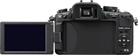 Panasonic Lumix DMC-G2 (Back View)