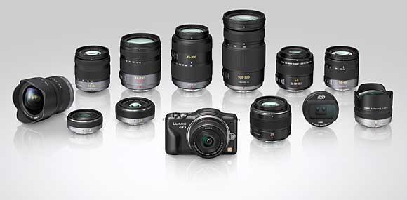 Micro Four Thirds Lenses for the Panasonic GF3