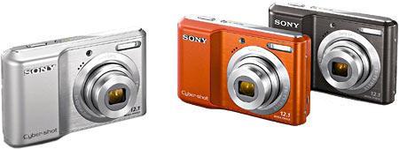 Sony Cyber-shot DSC-S2100 Colors
