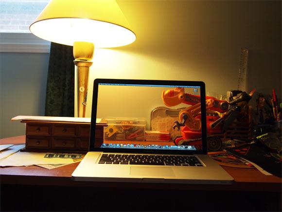 Transparent Screen MacBook Pro - Final Picture