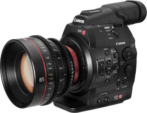 Canon EOS C300 Digital Cinema Camera (EF-Mount)