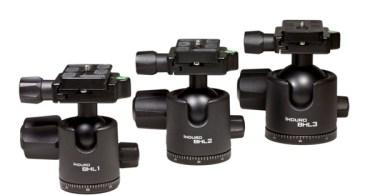 Induro® Announces New Heavy-Duty BHL Ballheads for Professional Photographers