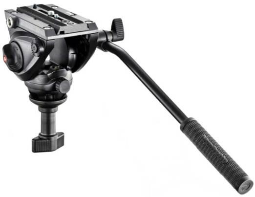 Manfrotto 500 Fluid Video Head (60mm Half-Ball Base)