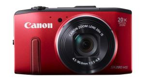 Canon PowerShot SX280HS RED FRT-900-75