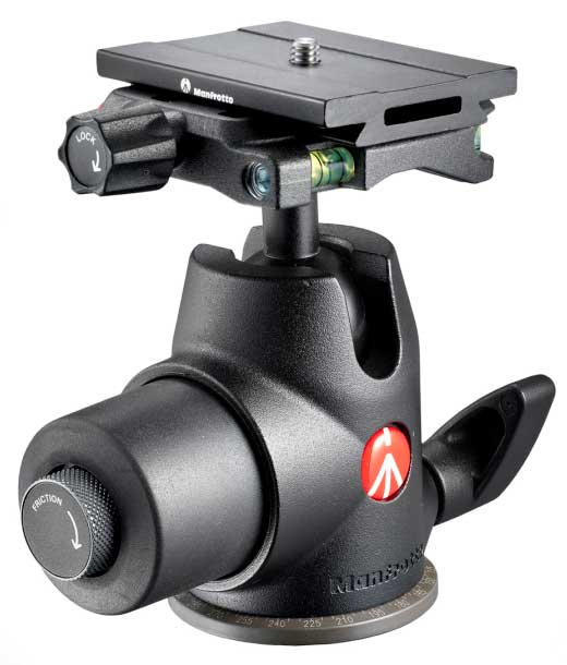 Manfrotto's Top Lock Quick-Release System