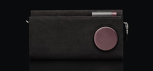 Leica C-Clutch: Clutch bag, dark-red.