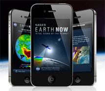 "NASA's ""Earth Now"" App"